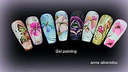 NAIL ART PAINTING GEL LEVEL 1-2-3